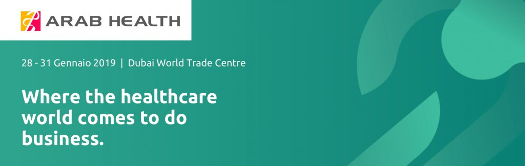 Arab Health 2019 | Dubai World Trade Centre, 28/31 Gennaio 2019